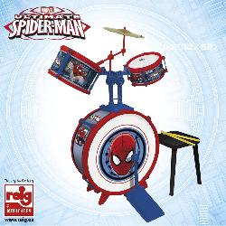 BATERIA SPIDERMAN SENCILLA