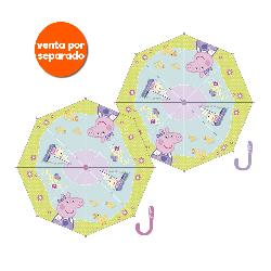 PARAGUAS PEPPA PIG 38CM MANUAL 2 SURT