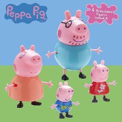 PEPPA PIG-FAMILIA PIG PACK 4 FIGURAS
