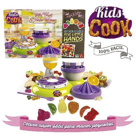 KIDS COOK-FABRICA CHUCHES Y OSITOS GOMA