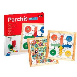 PARCHIS+OCA CRISTAL 44CM