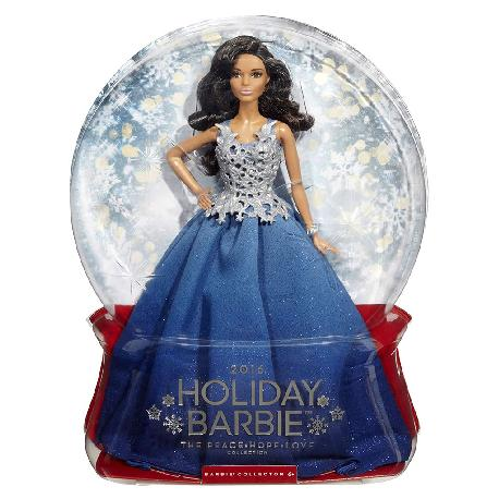 BARBIE FELICES FIESTAS 2016 MORENA
