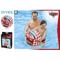 PELOTA HINCHABLE CARS 61CM -COLORBABY-
