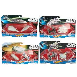 HOT WHEELS-VEHICULOS STAR WARS PACK 2UD