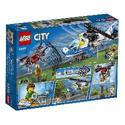 LEGO CITY-POLIVIA AEREA A LA CAZA DRON