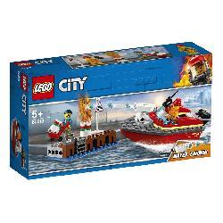 LEGO CITY-LLAMAS EN EL MUELLE