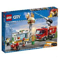 LEGO CITY-RESCATE INCENDIO HAMBURGUESERI