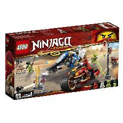 LEGO NINJAGO-MOTO ACUCHILLADORA DE KAI