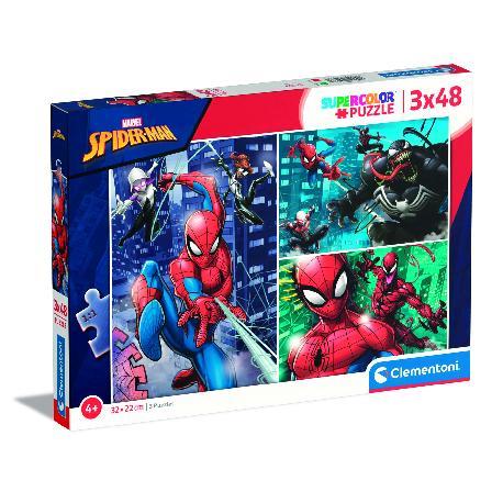 PUZZ 3X48 SPIDERMAN
