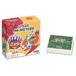 SPEED MONSTERS CARTAS