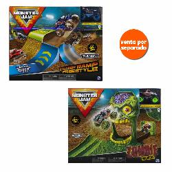 MONSTER JAM PLAYSETS ACROBACIAS 1-64