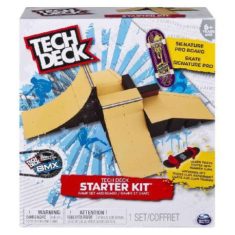 TECH DECK-STARTER KIT