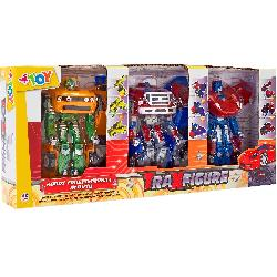 ROBOT TRANSFORMABLE 1-32 PACK 3 UD