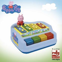PIANO-XILOFONO PEPPA PIG CON FIGURA