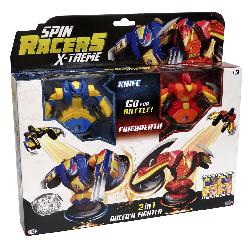 SPIN RACERS-PACK KNIFE Y FIREBREATH