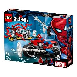 LEGO SUPERHEROES-RESCATE MOTO SPIDERMAN