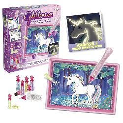 GLITTERRIZZ SET UNICORNIO FLUOR