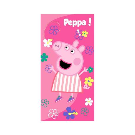 TOALLA PLAYA MICRO PEPPA PIG