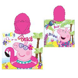 PONCHO PEPPA PIG 55X110CM