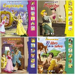 CLASICOS SONOROS 4 TITULOS