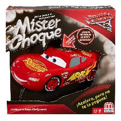 CARS MISTER CHOQUE JUEGO