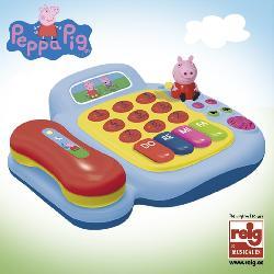 TELEFONO PEPPA PIG CON FIGURA