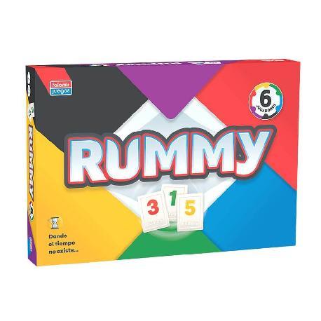 RUMMY 6 JUGADORES