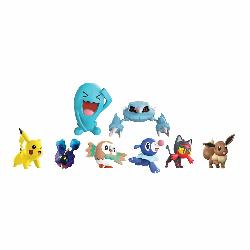 POKEMON-MULTIPACK 8 FIGURAS