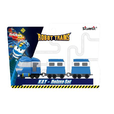 ROBOT TRAINS-VEHICULO DELUXE SURT