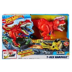 HOT WHEELS-T REX RAMPAGE