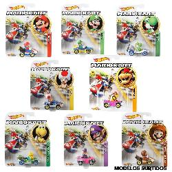 HOT WHEELS-VEHICULOS MARIO KART SURT
