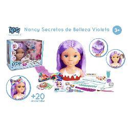 NANCY DIA DE SECRETOS DE BELLEZA VIOLETA