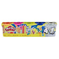 PLAYDOH-SILVER GOLD 5 PACK
