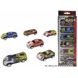COCHES PACK 6 E/BLISTER