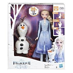 FROZEN 2-OLAF Y ELSA