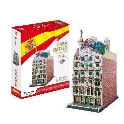 PUZZLE 3D CASA GAUDI 68PCS