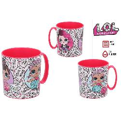 TAZA MICROONDAS 350ML LOL SURPRISE