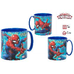 TAZA MICROONDAS 350ML SPIDERMAN