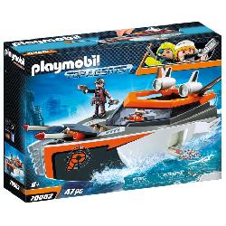 PLAYMOBIL SPY TEAM TURBONAVE