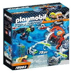 PLAYMOBIL SPY TEAM SUB BOT