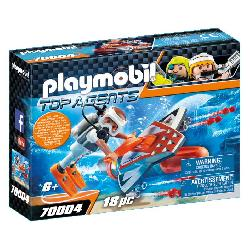 PLAYMOBIL SPY TEAM ALA SUBMARINA