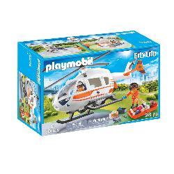 PLAYMOBIL HELICOPTERO DE RESCATE