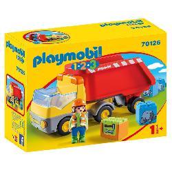 PLAYMOBIL 1.2.3 CAMION DE CONSTRUCCION