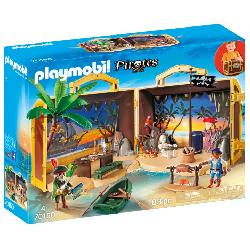 PLAYMOBIL ISLA PIRATA MALETIN