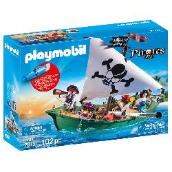 PLAYMOBIL BARCO PIRATA MOTOR SUBMARINO