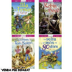 L'ILLA TRESOR/TOM SAWYER/VOLTA MON/ROBIN