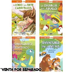 EL LOBO-AVENTURA SELVA-GRANJA-DINOSAURIO