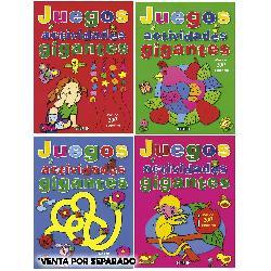JUEGOS Y ACTIVIDADES GIGANTES 4TIT.