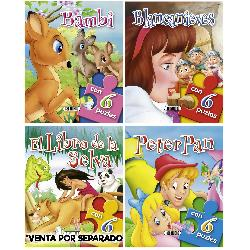 CUENTO PUZZLE 4 TITULOS