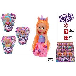 SPARKLE GIRLZ MUÃ'ECA 10CM RAINBOWS SURT